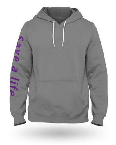 SOS Grey Hoodie