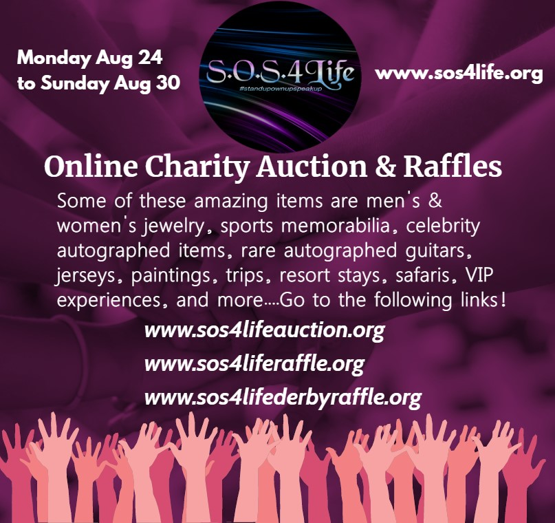 SOS Auction and Raffle